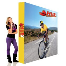 """8 ft. RPL Fabric Pop Up Display - 89""""h Straight Graphic Package"""