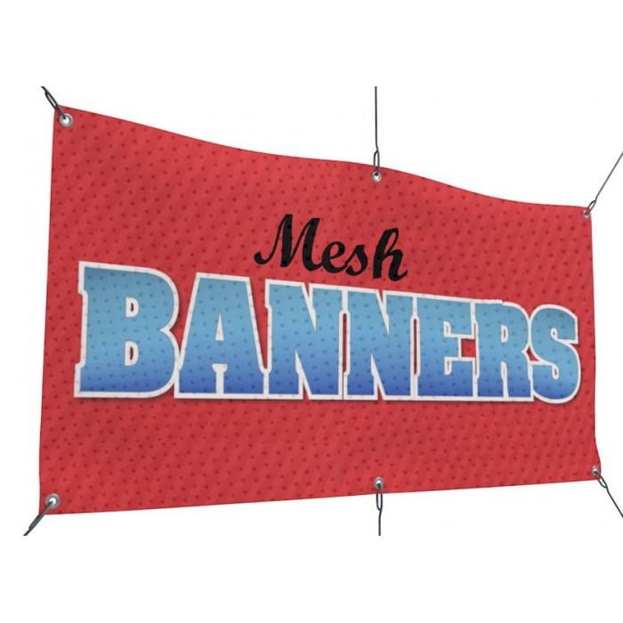 Mesh Banner Printing San Francisco
